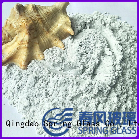 Spring Glass crushed glass powder manufacturer for industry