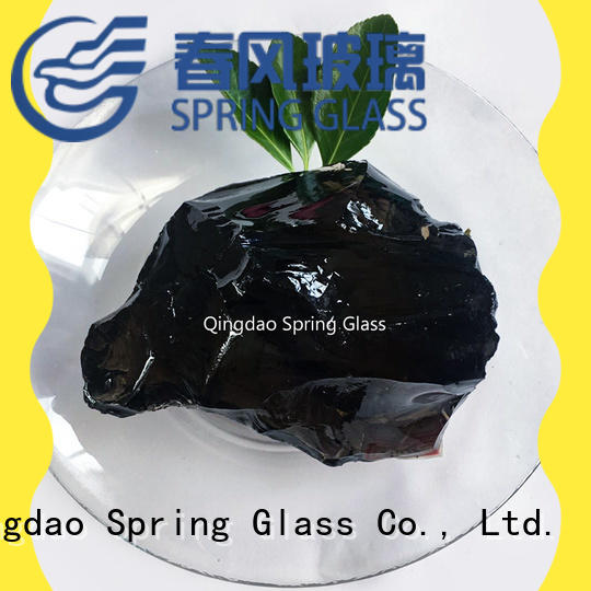 Spring Glass glass rocks wholesale for home