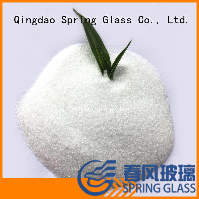 Spring Glass new glass powder supplier for paving