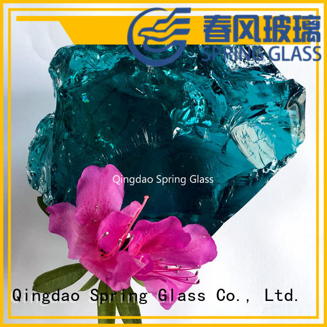 Spring Glass green glass rocks beautiful for square