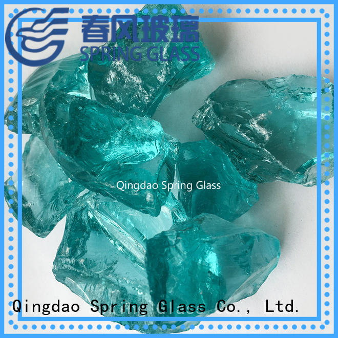 Spring Glass best decorative crushed glass for busniess for floor