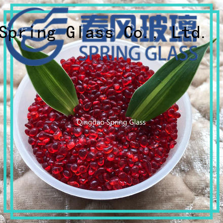 Spring Glass glass pebble factory for home