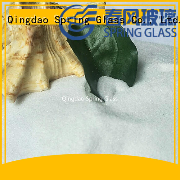 Spring Glass recycled green crushed glass for decoration