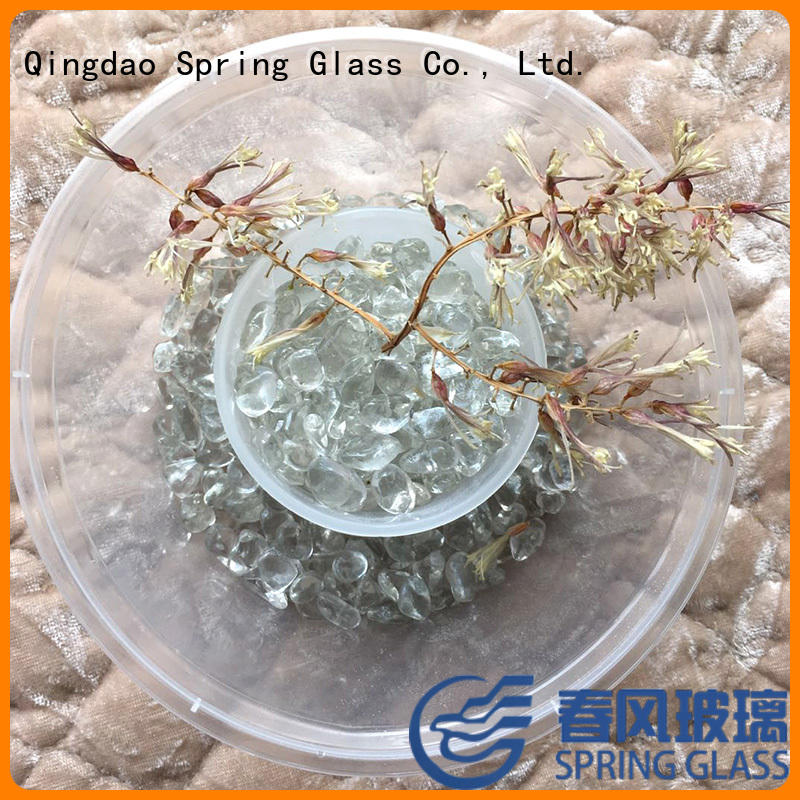 decorative glass gravel professional for home Spring Glass