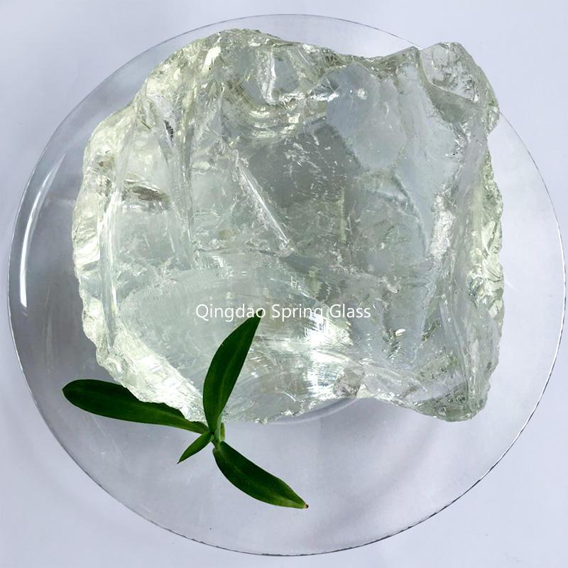 Super white glass rocks