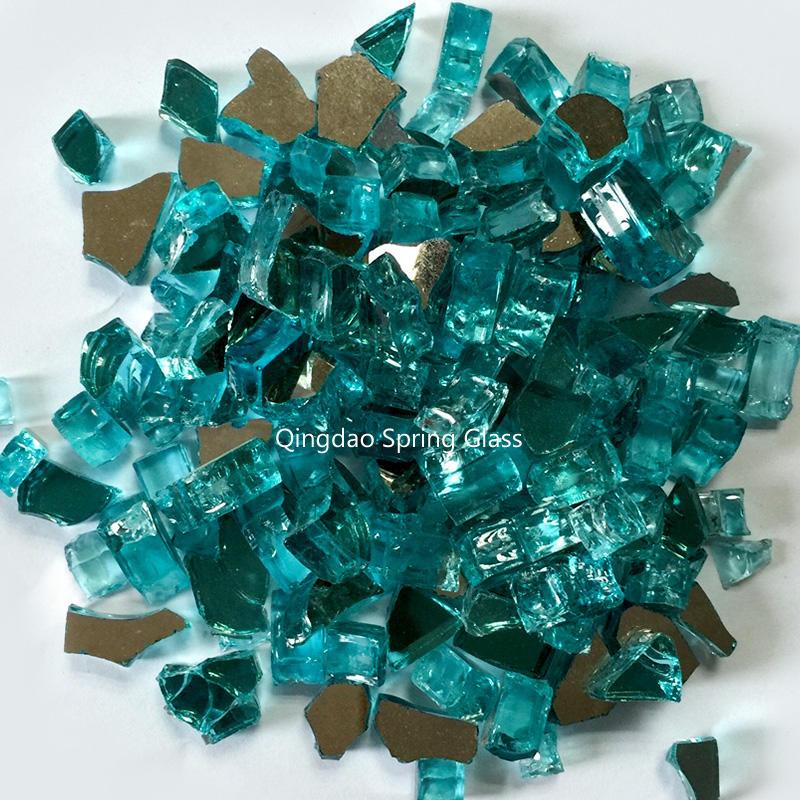 Fire glass rocks