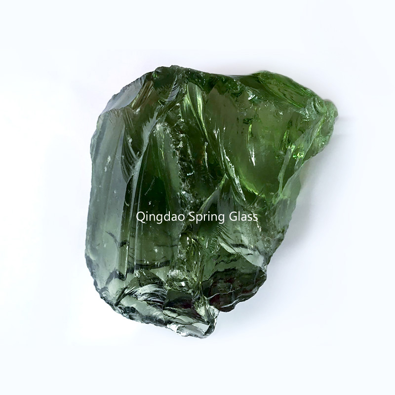 colorful landscaping glass rocks supplier for decoration-1