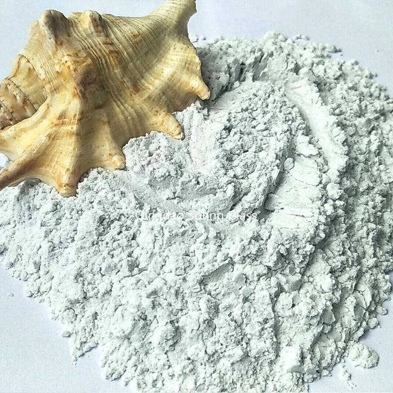 Super white glass powder