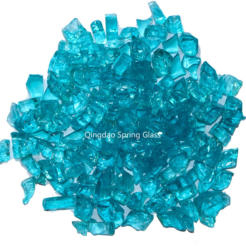 Tempered glass chips