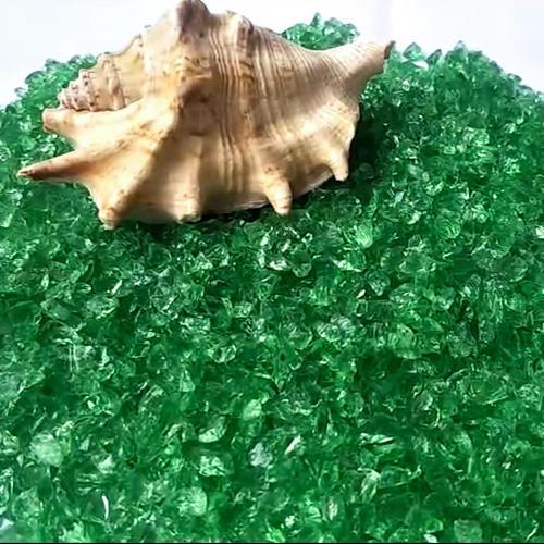 Dark Green Mirror Chips