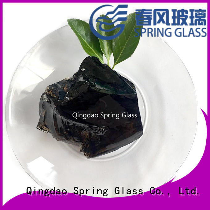light glass rocks for busniess for garden