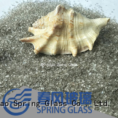 custom recycled crushed glass supplier for decoration