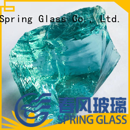 dark landscaping glass rocks manufacturer for garden