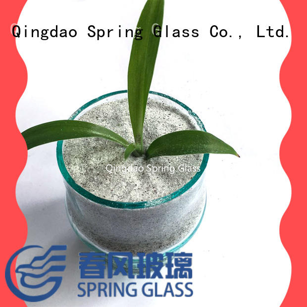 Spring Glass crushed glass chips wholesale for sale