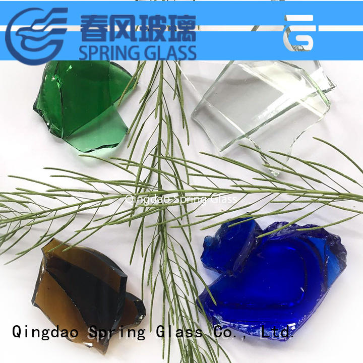 Spring Glass glass cullet for busniess for water filtration