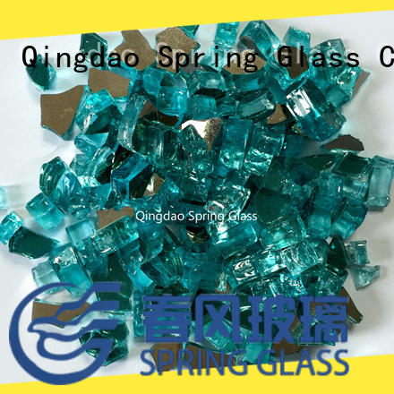 fire landscaping glass rocks wholesale for decoration