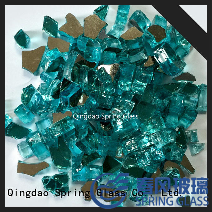 Spring Glass new landscaping glass rocks factory for decoration