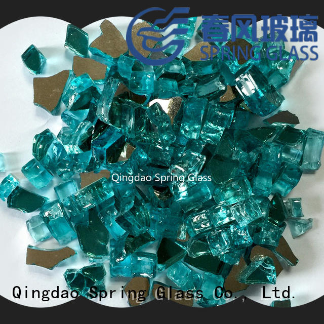 Spring Glass glass rocks manufacturer for square