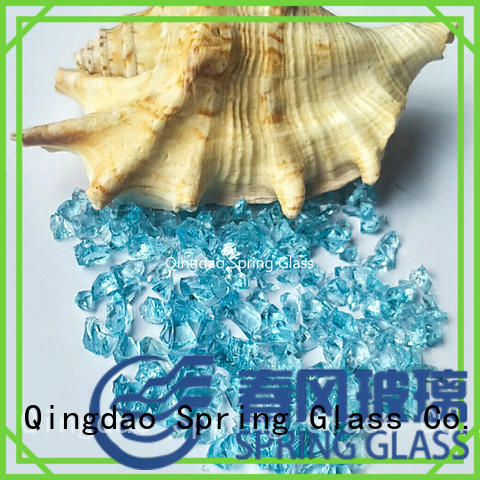 Spring Glass crushed glass for busniess for sale