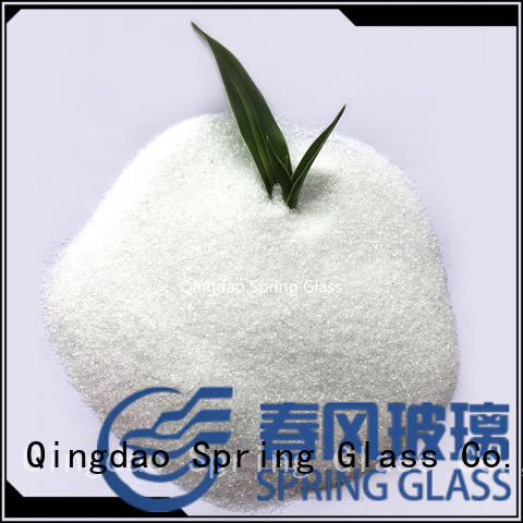 crushed glass powder wholesale for wall Spring Glass