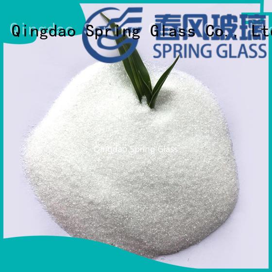 Normal white glass powder