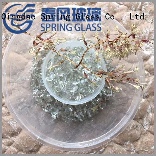 Spring Glass glass gravel wholesale for garden