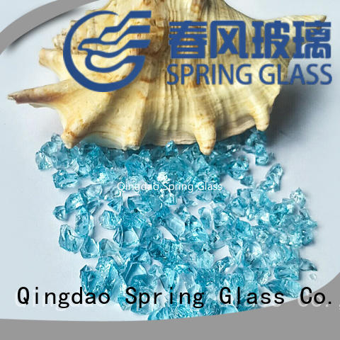beautiful recycled crushed glass supplier for floor Spring Glass