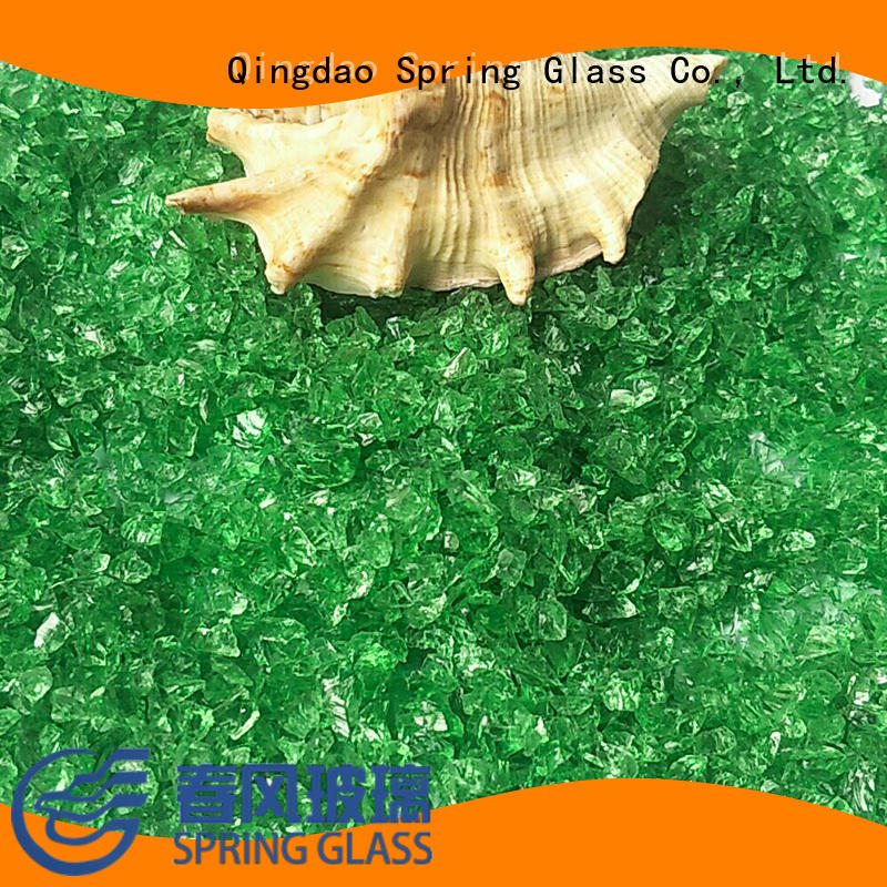 Spring Glass recycled crushed glass company for floor