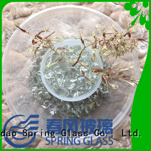 Spring Glass good selling glass pebble for busniess for swimming pool