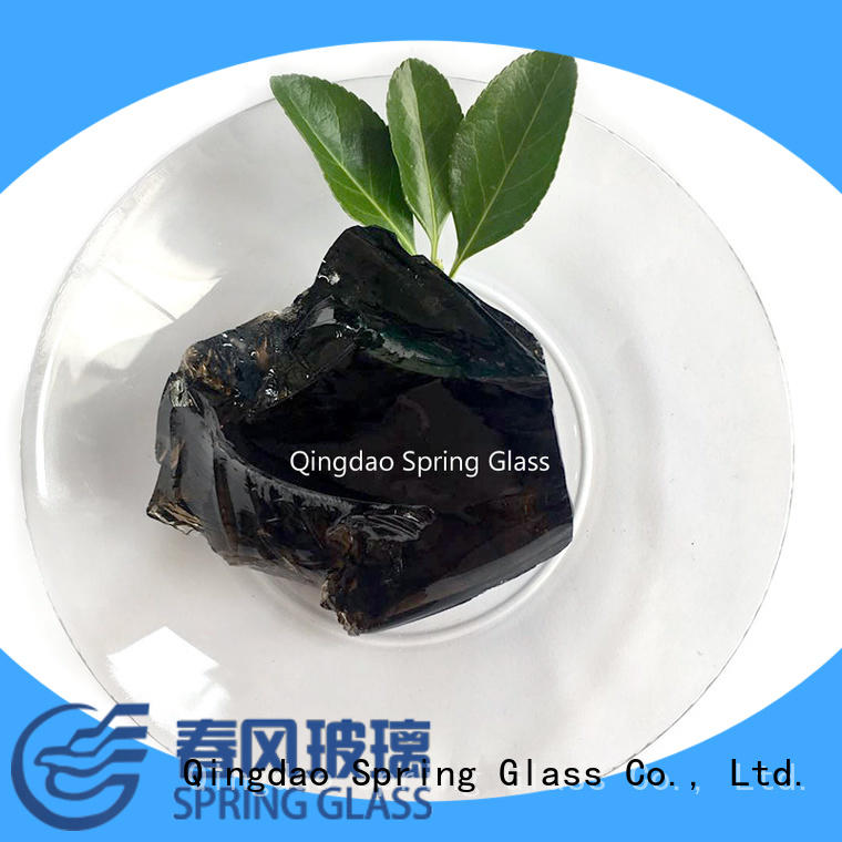 Spring Glass european fire glass rocks manufacturer for decoration