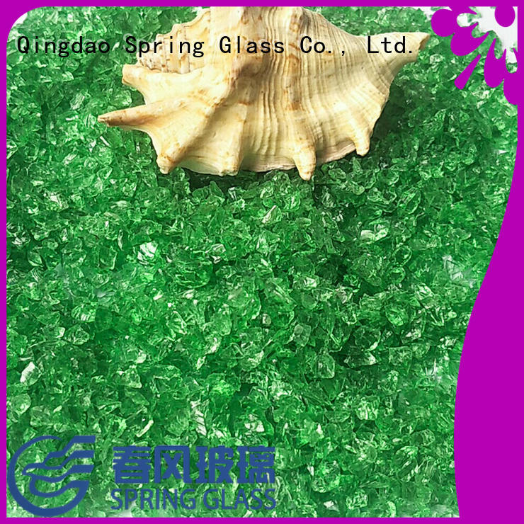 light recycled crushed glass supplier for sale
