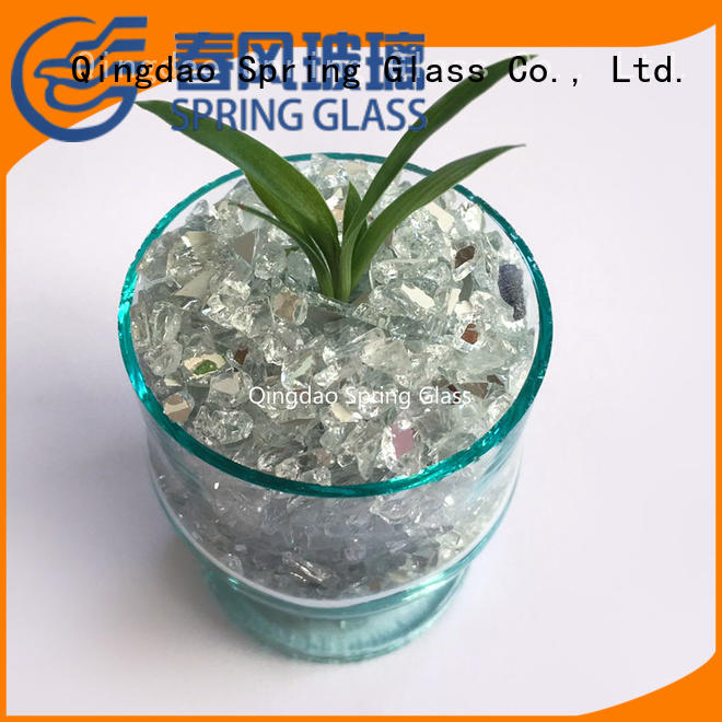 Spring Glass hot sale mirror chips wholesale