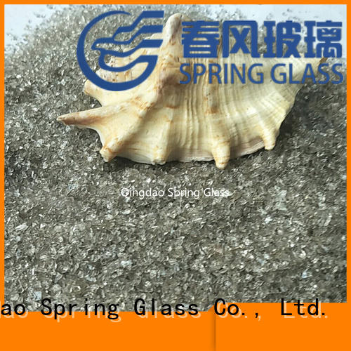 Spring Glass crushed glass factory for kitchen
