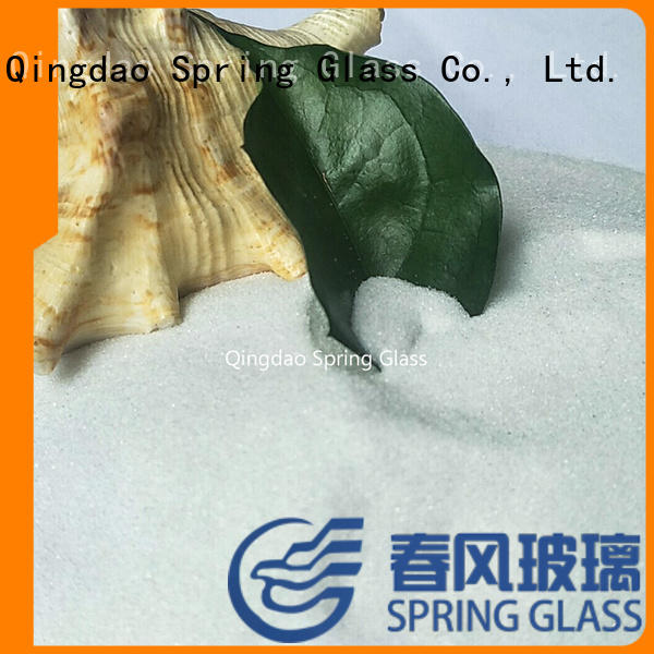 Spring Glass recycled gold crushed glass wholesale for sale