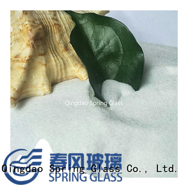Spring Glass super white decorative crushed glass for decoration