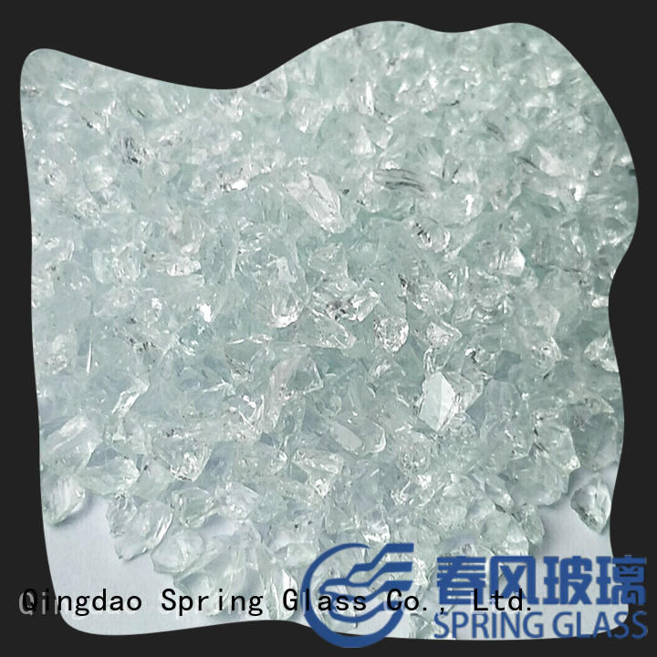 custom crushed glass superior quality for sale Spring Glass
