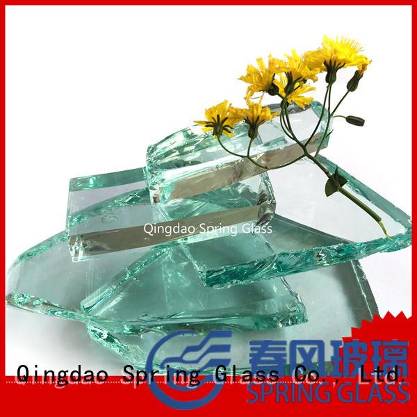 Spring Glass tempered cullet manufacturer for fire pit