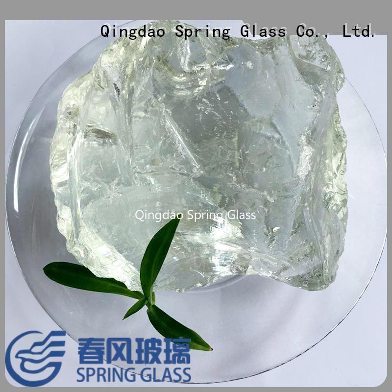 Spring Glass custom landscaping glass rocks supplier for decoration