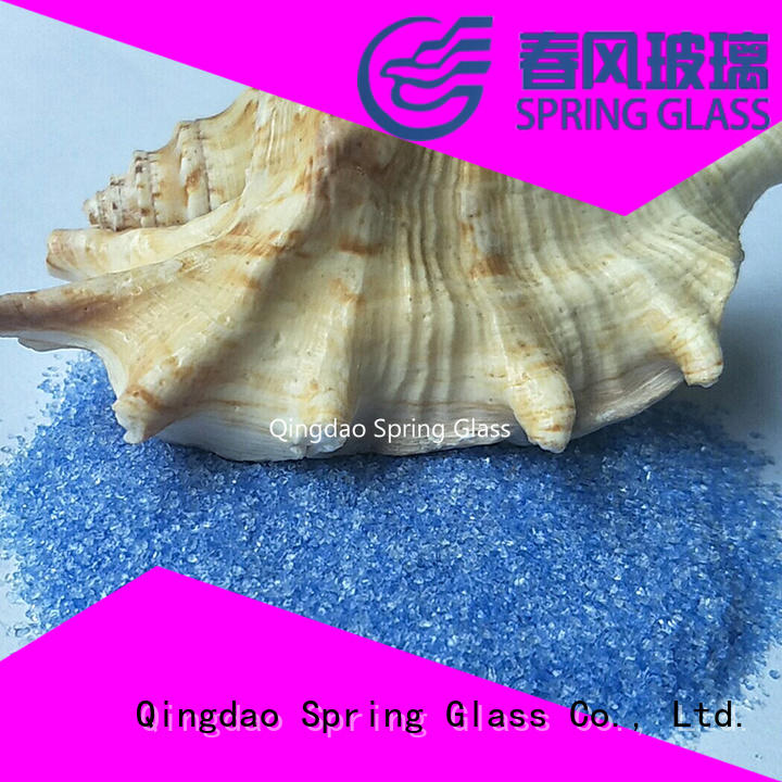 Spring Glass custom crushed glass supplier for kitchen