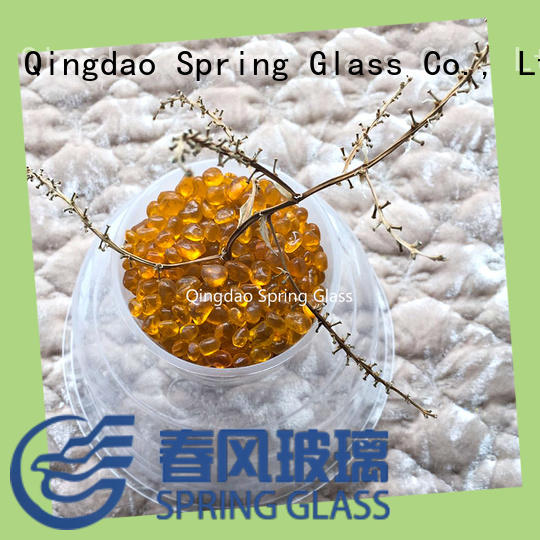 Spring Glass high quality glass gravel gravel for swimming pool