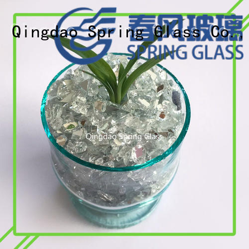 Crushed aluminium mirror glass mirror chips