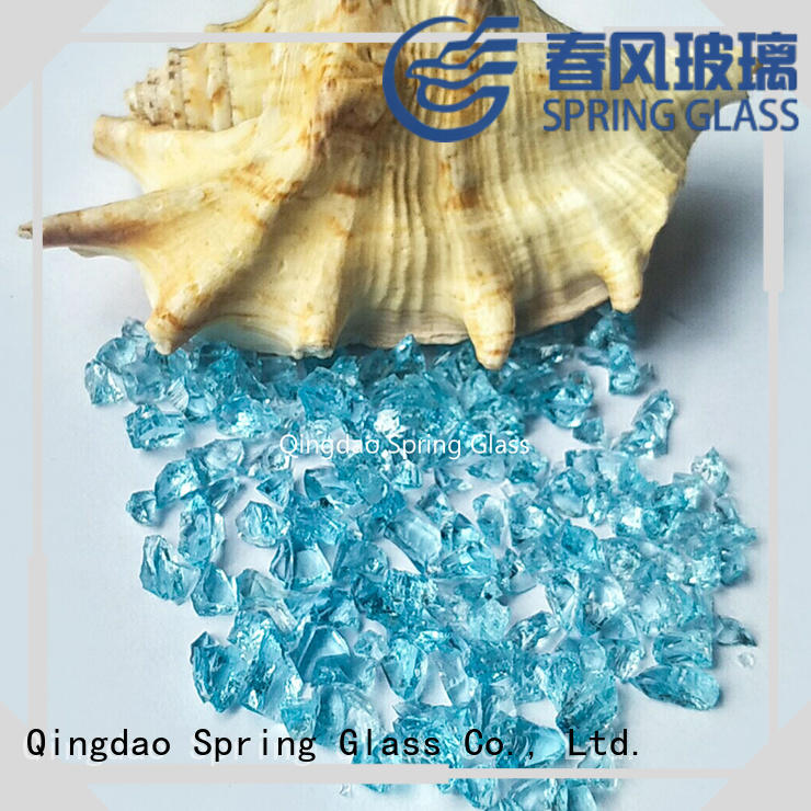 Spring Glass porcelain crushed glass supplier for sale