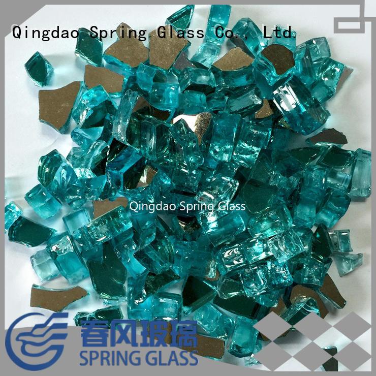 decorative glass rocks for home Spring Glass