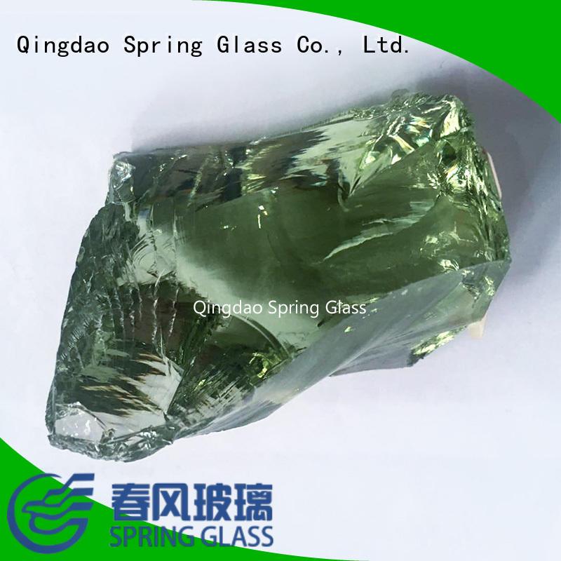 blue glass rocks for square Spring Glass