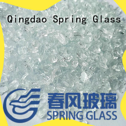 european decorative crushed glass supplier for kitchen