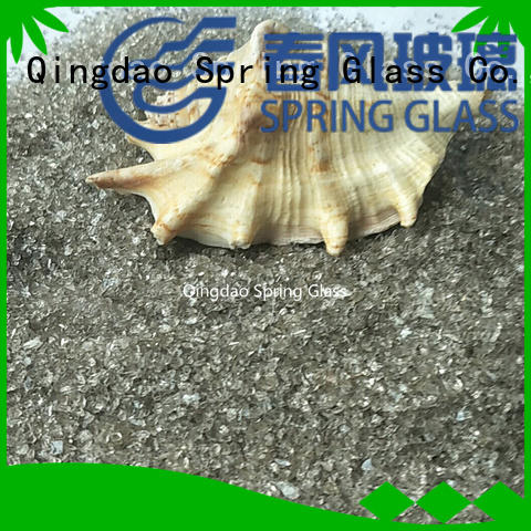 Spring Glass recycled crushed glass company for sale