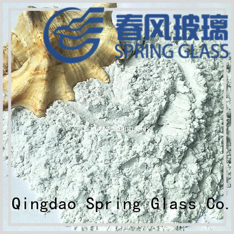 Spring Glass white glass powder manufacturer for industry