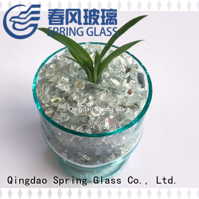 Spring Glass crushed glass chips company
