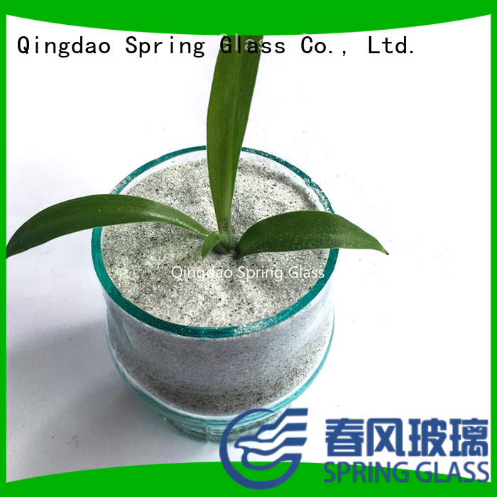 Spring Glass new crushed mirror chips company for sale
