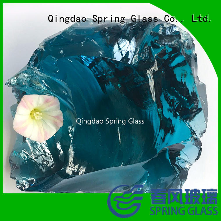 fire glass rocks manufacturer for home Spring Glass